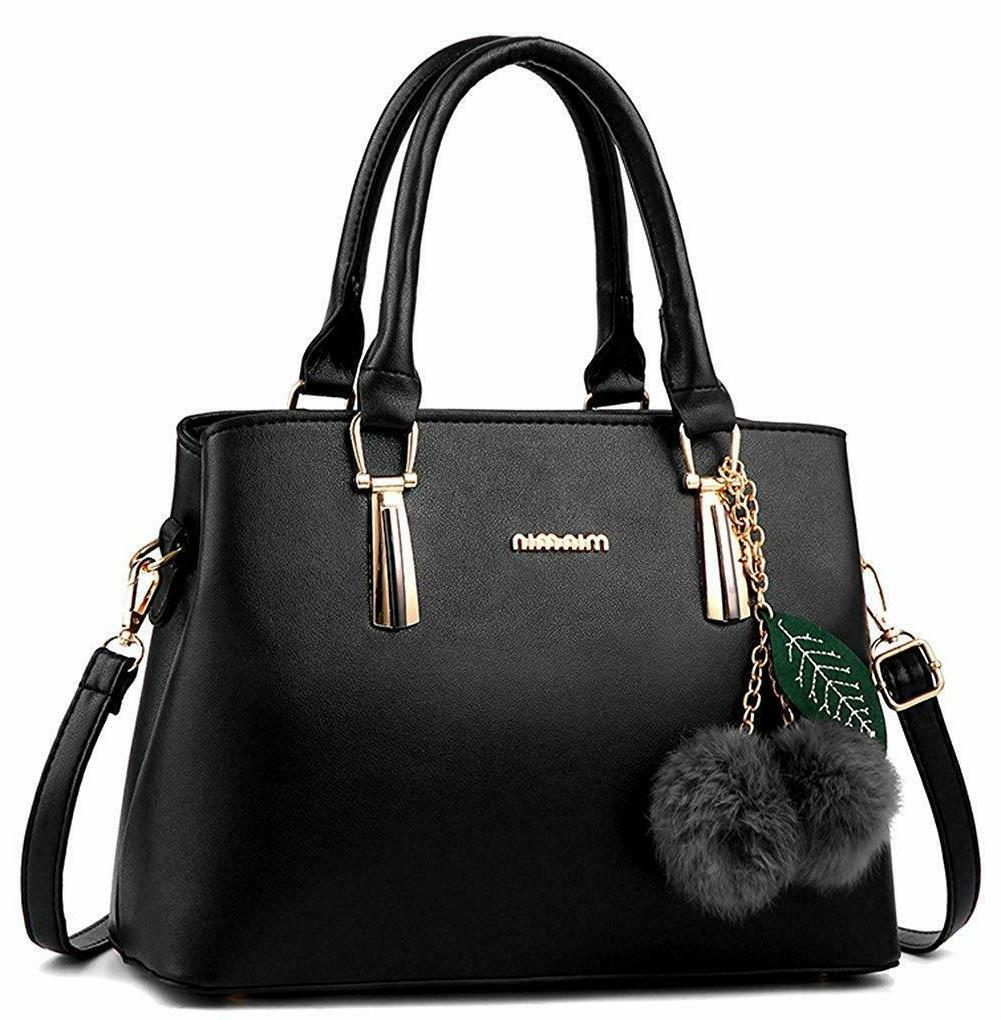 women s leather handbag tote shoulder bag