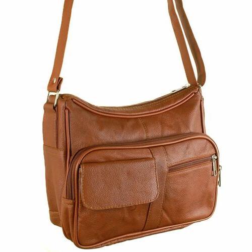 Women's Leather Cross Handbag