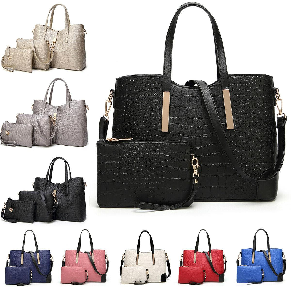 women s pu leather handbags satchel crossboy