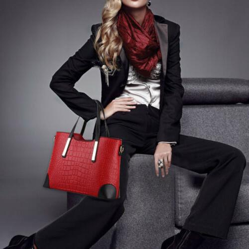 Women's Pu Leather Purse Handbags Shoulder Bag