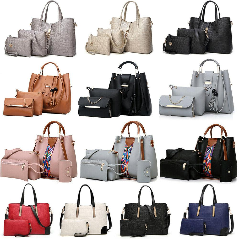 women s pu leather tote purse handbags