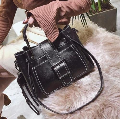 Women Bags Leather Crossbody