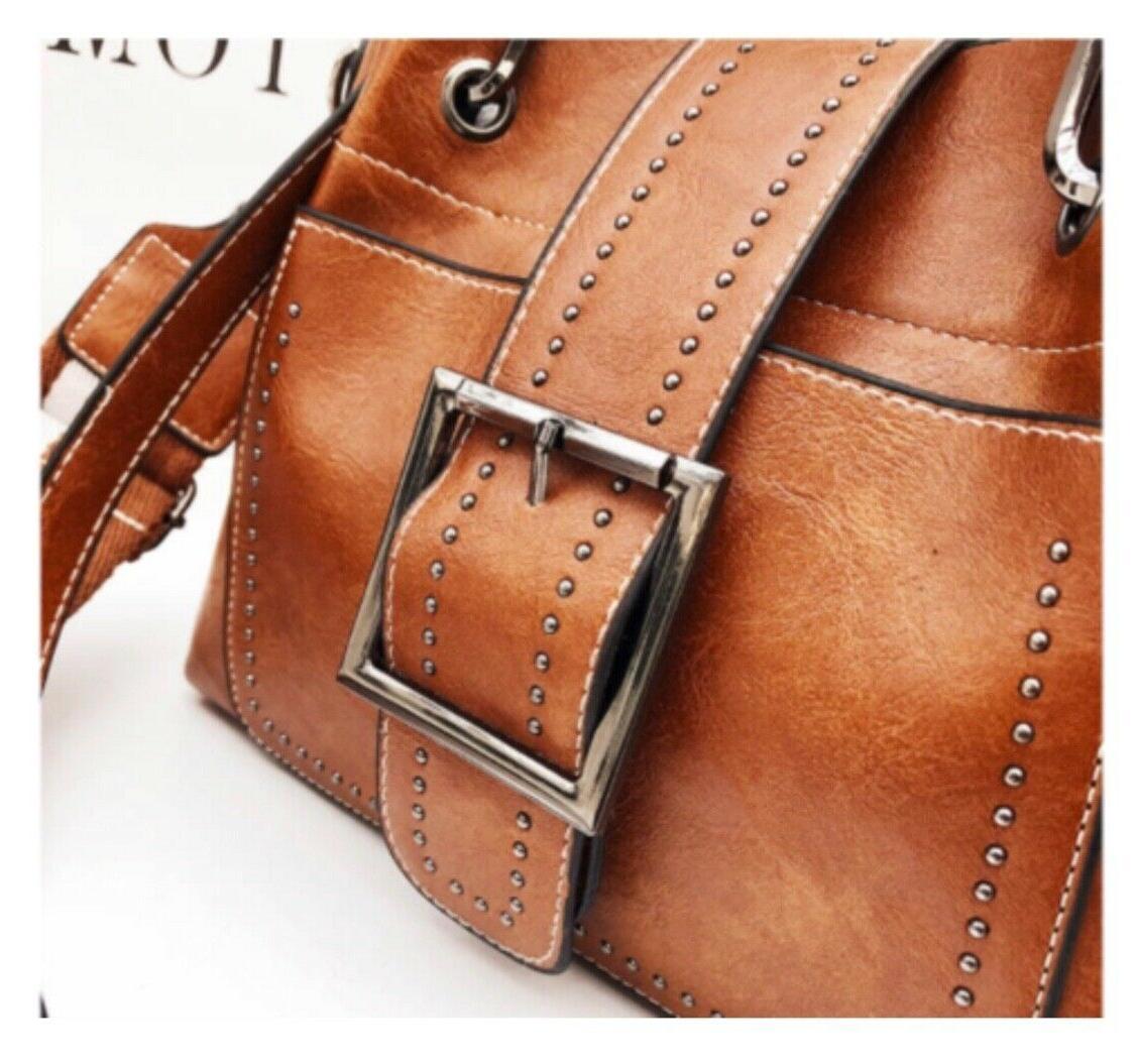Women Shoulder Bags Handbag Tote Leather Crossbody