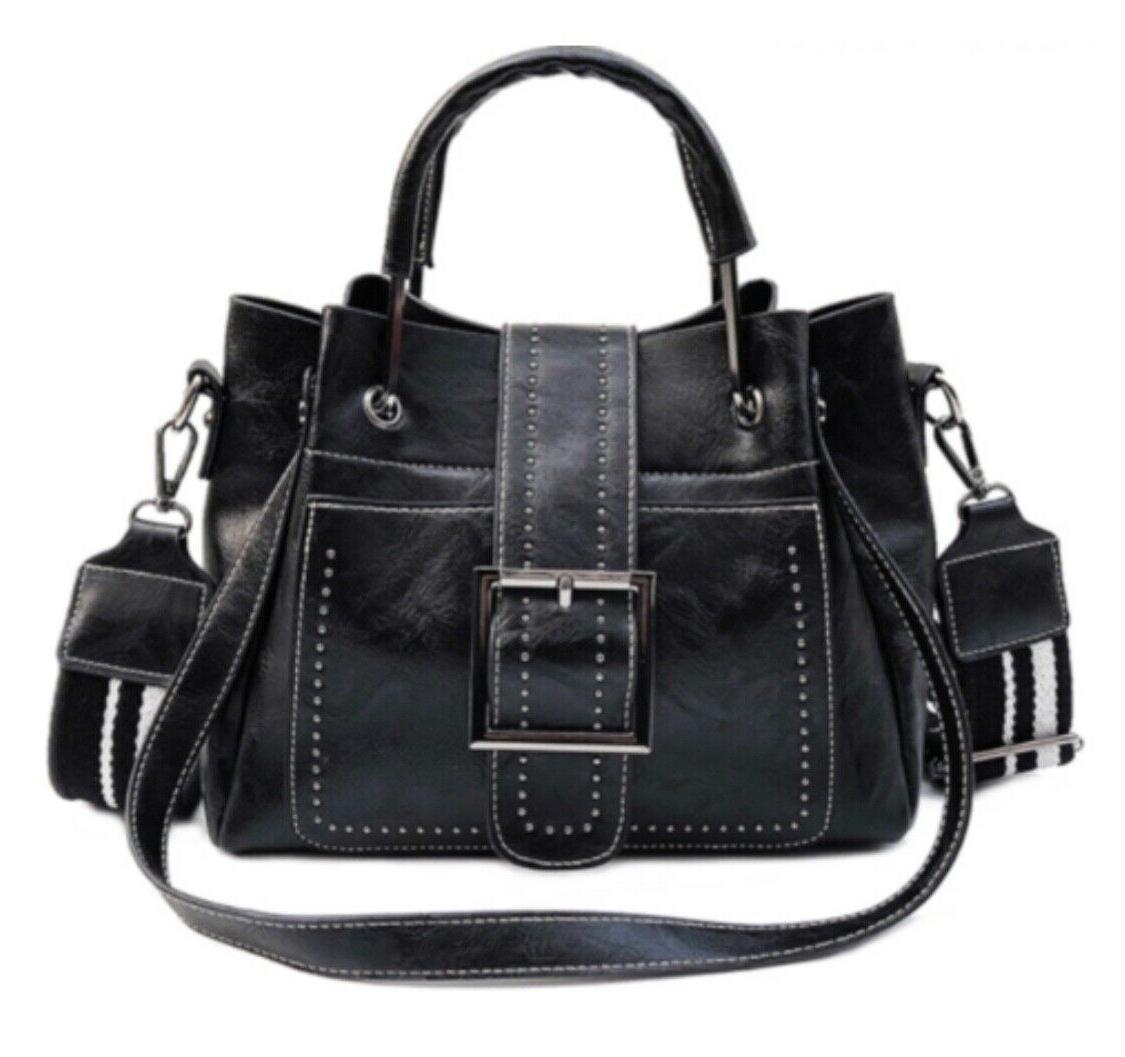 Women Vintage Handbag Tote Crossbody Purse