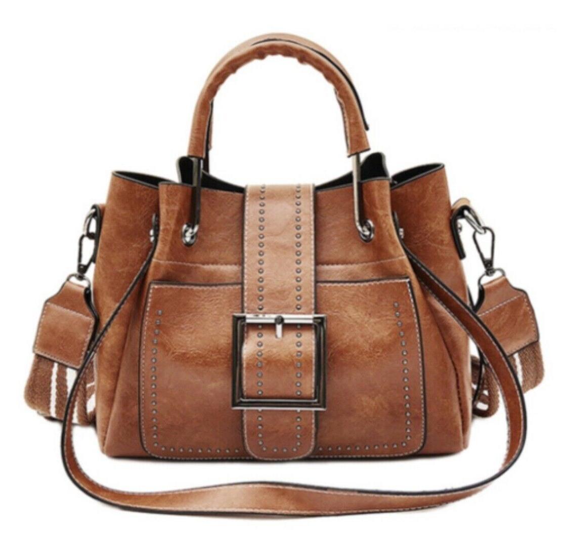 women shoulder bags vintage handbag tote leather