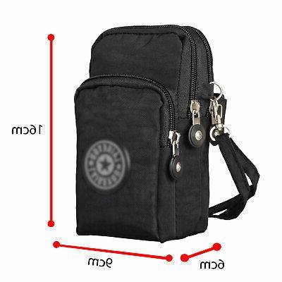 Women Phone Case Shoulder Pouch Handbag Purse