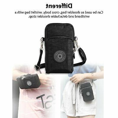 Women Small Phone Shoulder Pouch Handbag Purse Wallet