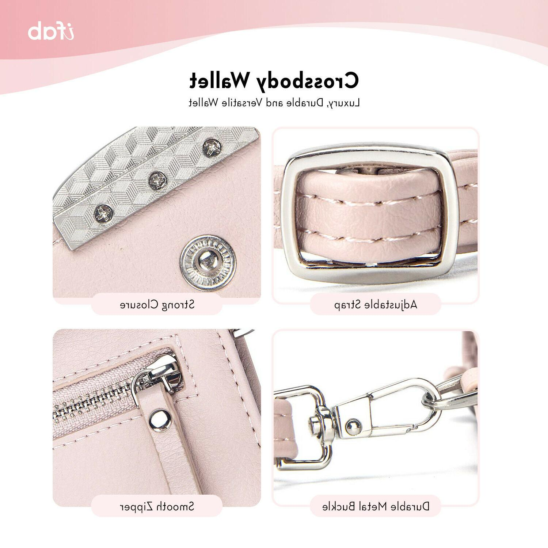 Women ifab Wallet w/Credit Pink