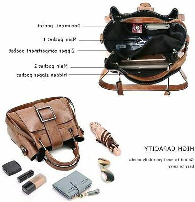 Women Small Handbags Tote Bag Multi-pocket
