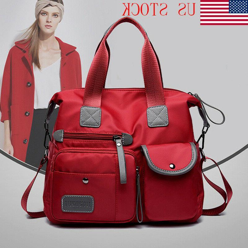 women waterproof nylon shoulder bags messenger bag