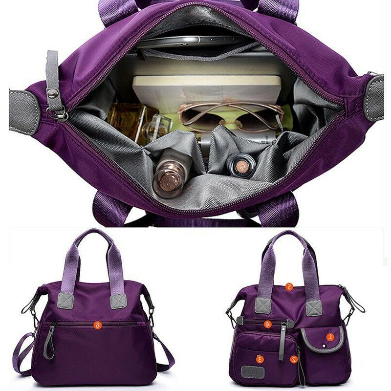 Women Waterproof Nylon Bags Messenger Large