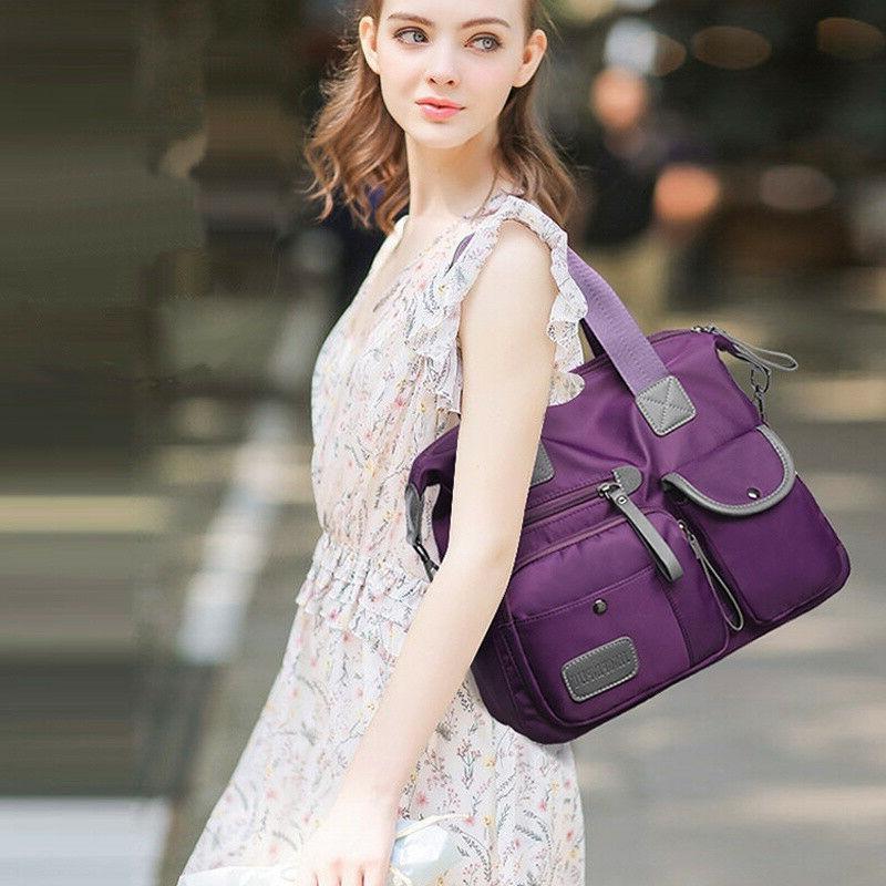 Women Waterproof Nylon Bags Bag Capacity Crossbody
