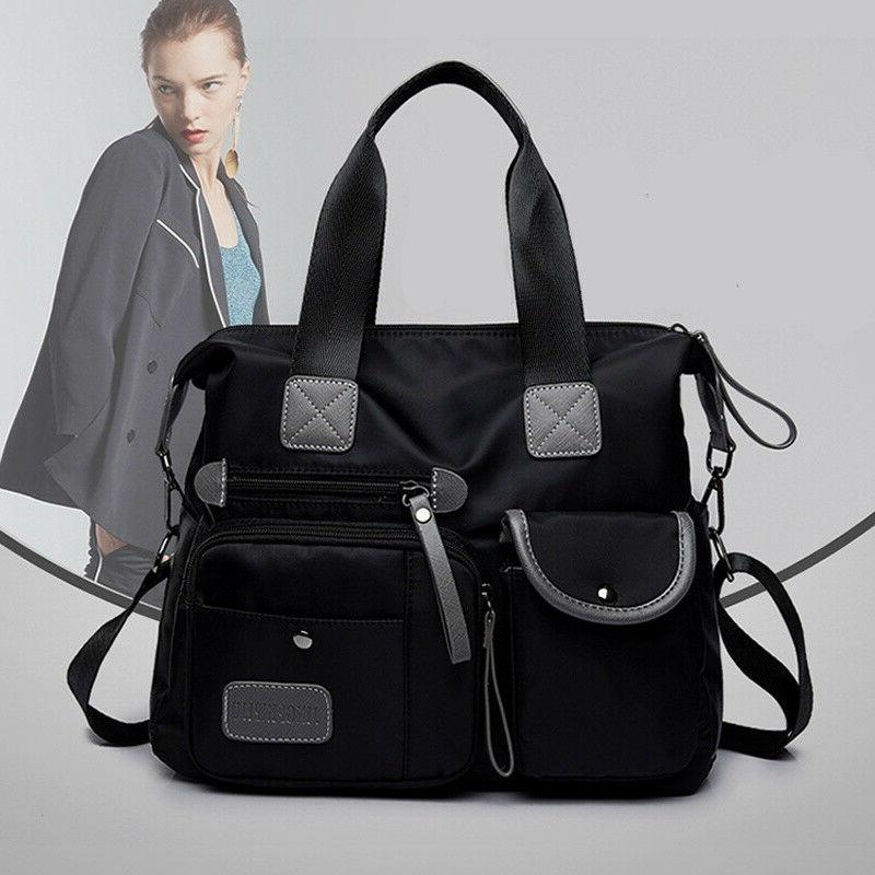 Women Waterproof Nylon Bags Messenger Large Capacity Bags