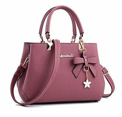 womens handbag tote shoulder purse leather crossbody