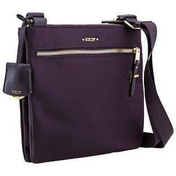 Tumi Ladies Tula Crossbody Bag in Purple 131958-1087