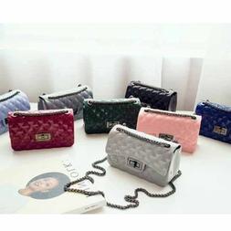 Large Crossbody Wallet Leathe Lattice Shoulder Bag Cellphone