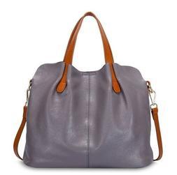 Large Handbags for Women Genuine Leather Shoulder Bags Cross