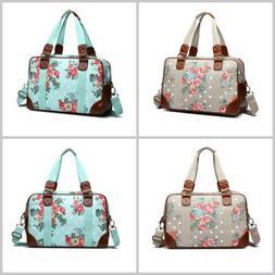 large laptop bag women flower print matte
