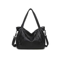 Large Soft Leather Bag Women Handbags Ladies Crossbody Bags