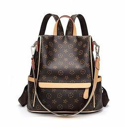 Leather Backpack for Women Designer Shoulder Bag Handbags Tr