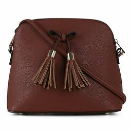 lightweight medium crossbody bag with front bow