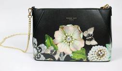 Ted Baker London Alyssa Gem Gardens Leather Crossbody Bag Ne