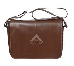 Men's Leather Messenger Bag Shoulder Cross Body Satchel Bag