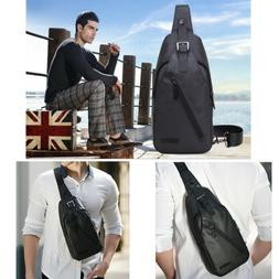 Men Sling Bag Waterproof Anti-theft Crossbody Daypack Chest