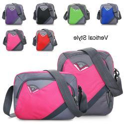 Men Women Nylon Waterproof Shoulder Bag Large Capacity  Mess