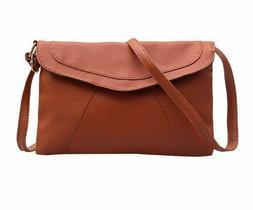 Messenger Bag For Women Vintage Leather Shoulder Bags Fashio