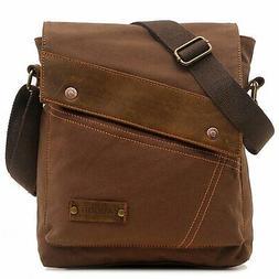 Aibag Messenger Bag, Vintage Small Canvas Shoulder Crossbody