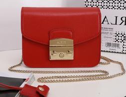 Furla Metropolis Mini bag Lady Shoulder bag  leather crossbo