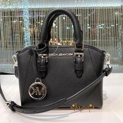 Michael Kors Mini Ciara XS Satchel Crossbody Bag black $298