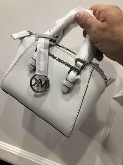Michael Kors Mini Ciara XS Satchel Crossbody Bag White $298