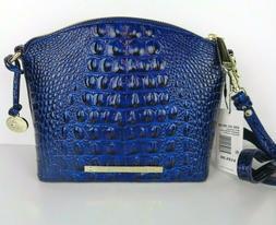 Brahmin Mini Duxbury Sapphire Melbourne Leather Crossbody Ba