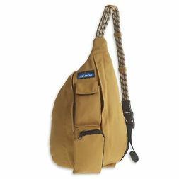 KAVU Mini Rope Bag Crossbody Shoulder Cotton Backpack - Toba