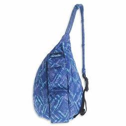 KAVU Mini Rope Bag Kids Crossbody Sling Cotton Backpack -