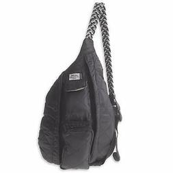 KAVU Mini Rope Puff Bag Sling Crossbody Backpack Travel Quil