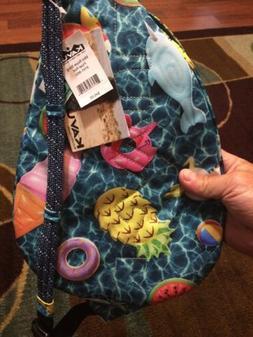 KAVU Mini Rope Sling Bag Crossbody Shoulder Backpack - Float