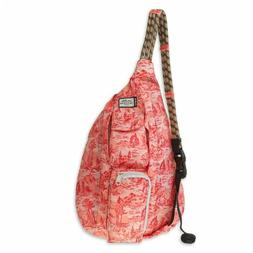 KAVU Mini Rope Sling Bag Crossbody Shoulder Backpack