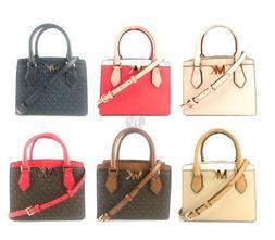 Michael Kors Mott Medium Messenger Crossbody Satchel Handbag
