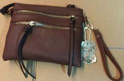 Alyssa multi pocket small crossbody bag  new