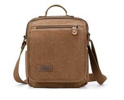 New Plambag Canvas Messenger Bag Small Travel School Crossbo
