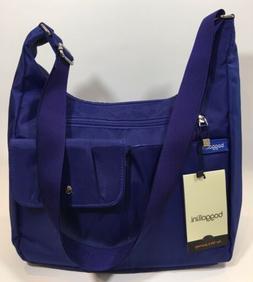Baggallini NEW!!! CARGO BAG BLUE Hobo Tote Crossbody Zipper