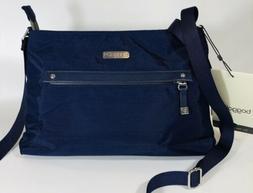 Baggallini NEW!!! CROSSBODY Zip Strip BAGG Dark Blue Navy Ev
