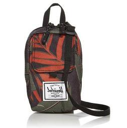 *NEW* Herschel Form; Small Crossbody Bag; Dark Olive Palm; C
