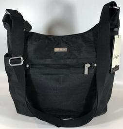 Baggallini NEW!!! HOBO Cargo BAG Black TOTE NWT Crossbody Zi