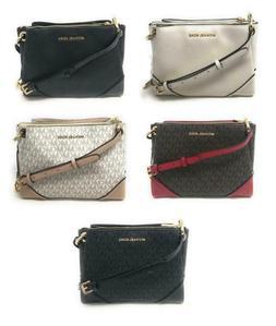 Michael Kors Nicole Triple Compartment Crossbody Bag Handbag