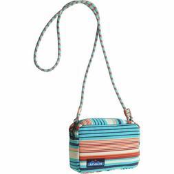 KAVU Nootka Crossbody Bag Padded Rope Strap Purse - Cascade