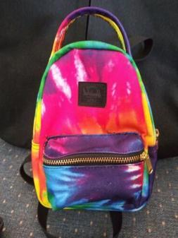Herschel Nova Mini Tie Dye Rainbow Colorful Crossbody Bag